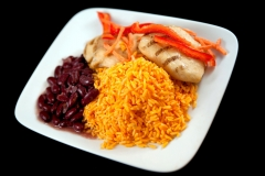 PTC (Grilled Chicken, Yellow Rice, and Beans 1)